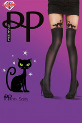 PrettyPolly Halloween Tights Cat Tights