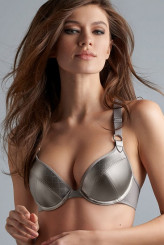 Marlies Dekkers Femme Fatale silver metal Push-Up-BH