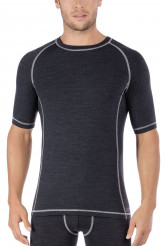 Skiny Active Wool Shirt kurzarm
