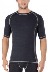 SkinyActive WoolShirt kurzarm