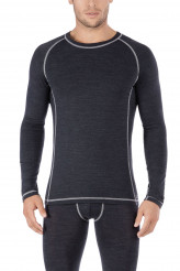 Skiny Active Wool Shirt langarm