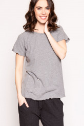 Gattina Casual Shirt, kurzarm