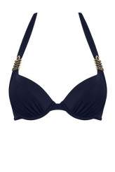 Marlies Dekkers Royal Navy Push-Up-Bikini-Oberteil