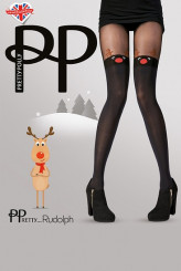 PrettyPolly Christmas Rudolph Tights