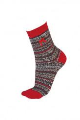 PrettyPollyChristmasFairisle Socks