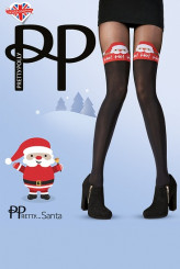 PrettyPolly Christmas Jolly Santa Tights