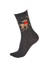 PrettyPollyChristmasReindeer Socks