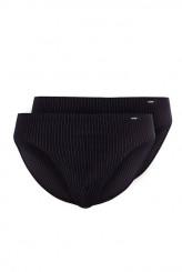 SkinyAdvantage MenBrasil Slip, 2er-Pack stripe