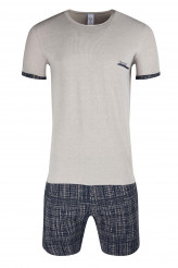 SkinySloungewear TrendPyjama kurz grey