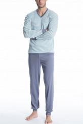 CalidaRelax NachtwäschePyjama mit Bündchen Relax Streamline 2