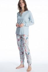 CalidaCosy FlowersPyjama lang mit Bündchen