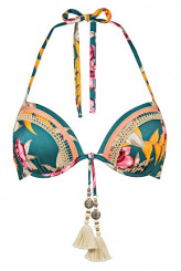 WatercultHyper VintagePush-Up-Bikini-Oberteil