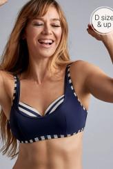Marlies DekkersMarinièrePlunge Balconette D-F Bikini-Oberteil