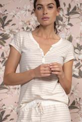 ESSENZALoungewear 2019Jimmies Stripe Top Short Sleeve