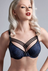 Marlies Dekkers Dame de Paris bijoux blue Push-Up-BH