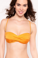 Watercult Dazzling Brights Twisted Bandeau-Bikini-Oberteil