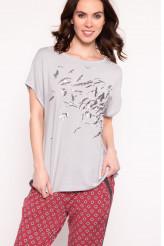 JockeyEasy Vibes LoungewearT-Shirt cloud grey