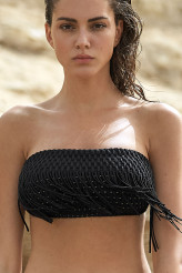 Pain de SucreTissage FrangesBandeau-Bikini-Oberteil Blake