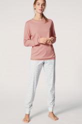 CalidaSweet DreamsPyjama mit Bündchen rose