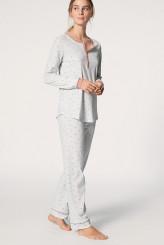 CalidaSweet DreamsPyjama mit Knopfleiste rose