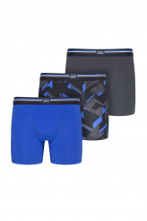 Jockey Cotton Stretch - Mehrpack Boxer Trunk, 3er-Pack