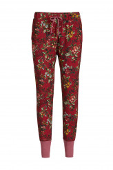 Pip Studio Loungewear 2019-2 Bobien Berry Delight Trousers Long