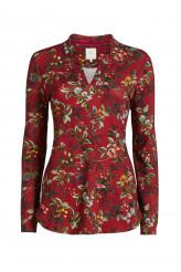 Pip StudioLoungewear 2019-2Teddie Berry Delight Top Long Sleeve