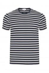 Mey HerrenwäscheLoungeT-Shirt, Ringel