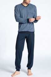 CalidaRelax ImprintPyjama mit Bündchen