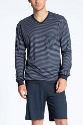 CalidaRelax StreamlinePyjama kurz, langarm