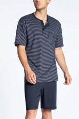 CalidaRelax StreamlinePyjama kurz mit Knopfleiste