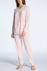 CalidaCosy Cotton NightsPyjama lang mit Bündchen