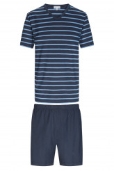 Mey HerrenwäscheNight StripesPyjama kurz