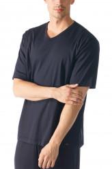 Mey HerrenwäscheBlack Classic NightShirt kurzarm
