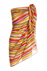 Pip StudioBeachwear 2020Alice Rainbow Stripe Pareo