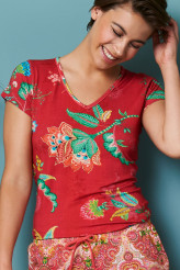 Pip StudioLoungewear 2020Toy Jambo Flower Top Short Sleeve
