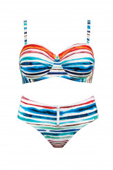 Lidea High Noon Bandeau-Bikini-Set