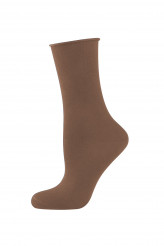 Elbeo Strick Light Cotton Rollbund-Socke