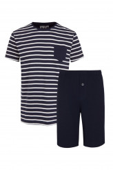 Jockey Nightwear Pyjama kurz Nautical Stripe