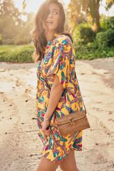 Rosa FaiaBali BeachKleid Tahiti