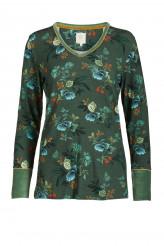 Pip StudioLoungewear 2020-2Trix Leafy Stitch Top Long Sleeve
