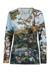 Pip StudioLoungewear 2020-2Trice Winter Blooms Top Long Sleeve