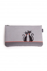Buntimo Designertaschen Kosmetiktasche Pocket - Black Cats
