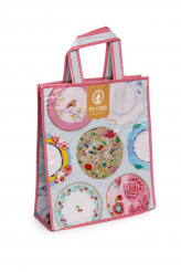 Pip Studio Accessoires Spoons and Plates Shopper Royal