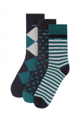 Jockey Socks Socken, 3er Pack Mixed Print