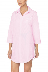 Lauren Ralph Lauren Wovens Nightwear His Shirt Sleepshirt stripes