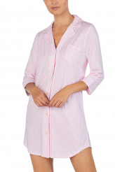 Lauren Ralph Lauren Knits Nightwear Notch Collar Sleepshirt