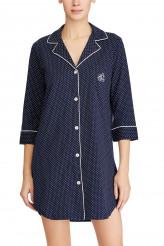 Lauren Ralph LaurenKnits NightwearNotch Collar Sleepshirt