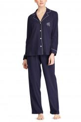 Lauren Ralph LaurenHammond KnitsClassic Notch Collar Pyjama