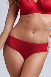 Marlies Dekkers Dame de Paris red Brazilian Slip - 8 cm